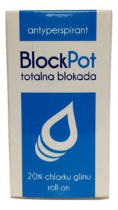 Antyperspirant BlockPot 20ml
