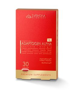 Svenska Adaptogen Alpha 30 tabletek